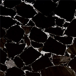 Black Obsidian Silver